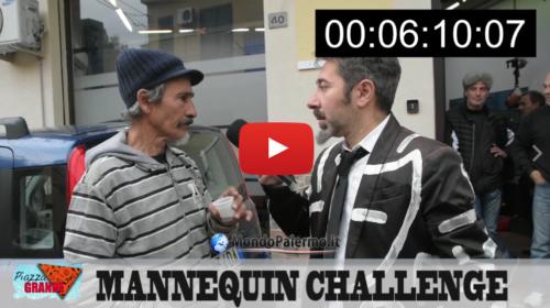 Propone il 'Mannequin Challenge' ai palermitani… Guarda cosa succede! VIDEO
