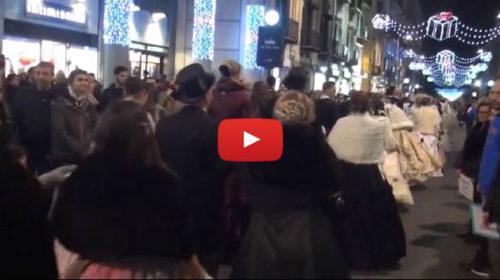 Palermo, Sfilata in stile ottocentesco per le vie del centro |IL VIDEO