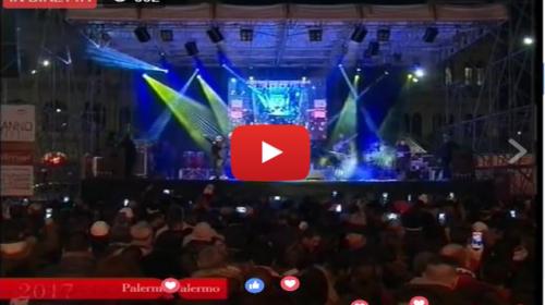 Segui IN DIRETTA il Capodanno in Piazza a Palermo |VIDEO