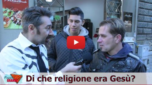 Di che religione era Gesù? Quando nacque Gesù? Ecco le irresistibili risposte dei palermitani |VIDEO