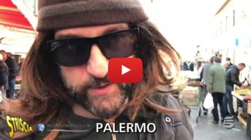 Striscia – Traffico di uccelli a Ballarò, Edoardo Stoppa si camuffa ma viene scoperto: ecco cosa è successo  VIDEO