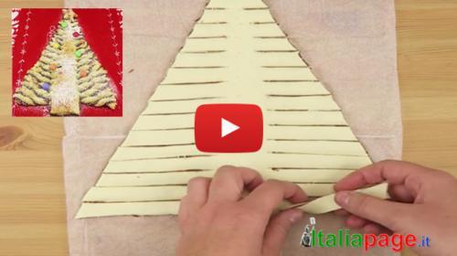 Idea golosa e spettacolare per Natale: basta arrotolare la pasta sfoglia in questo modo |GUARDA IL VIDEO