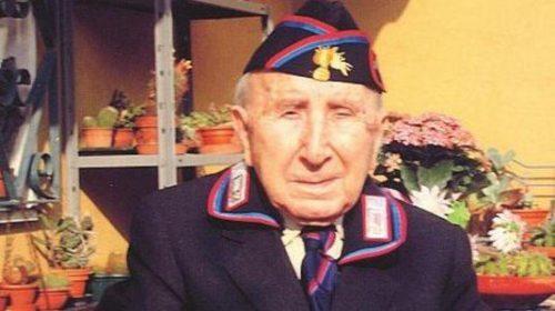 È palermitano il carabiniere più vecchio d'Italia: compie 109 anni