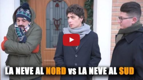 La NEVE al NORD vs la NEVE al SUD |L'esilarante VIDEO