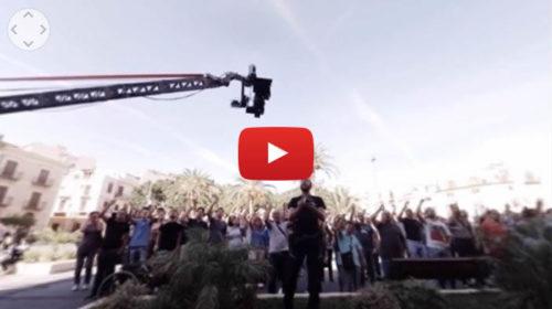 L'Ora Legale – Il Backstage del nuovo film di Ficarra e Picone in realtà virtuale  VIDEO