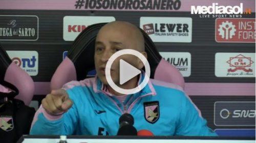 Palermo: la conferenza stampa esplosiva di Corini |IL VIDEO