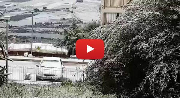 Ancora neve e disagi sulle strade in Sicilia: le immagini da San Giuseppe Jato |IL VIDEO