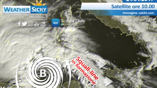 Sicilia, sarà un weekend nero! 48 ore da attenzionare a causa di una forte sciroccata