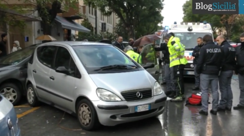 Incidente stradale esce dall'auto e muore, tragedia in via Di Giovanni |FOTO E VIDEO