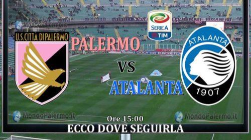 Palermo-Atalanta: Ecco come seguirla in Tv e Streaming