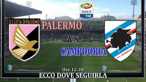 Palermo-Sampdoria: Ecco come seguirla in Tv e Streaming