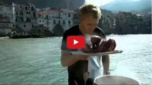 Palermo, Lo Chef Gordon Ramsay cucina a Cefalù  Guarda la puntata – VIDEO