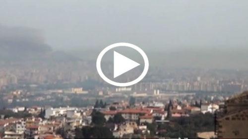Arriva a Palermo la sabbia del Sahara, pulviscolo del deserto avvolge la città |IL VIDEO