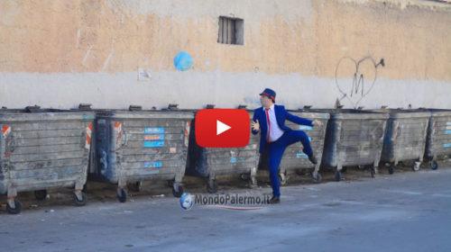 Comico palermitano come il ballerino della Tim, la parodia dello spot diventa virale |VIDEO