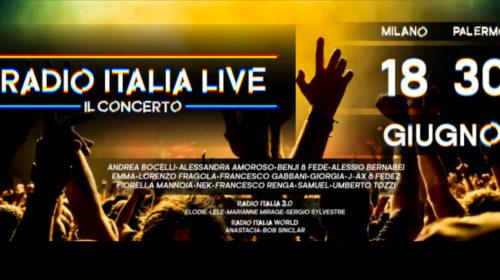 Radio Italia Live – Il Concerto: Ecco tutti i cantanti che canteranno a Palermo