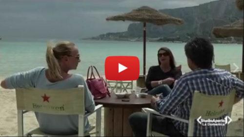 Vacanze di Pasqua a Palermo, il bellissimo servizio di Studio Aperto a Mondello |VIDEO