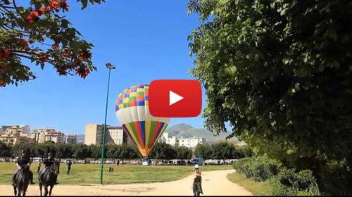 Palermo vista dalla mongolfiera, le immagini in volo sul Parco della Favorita |VIDEO