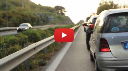 Controesodo, lunghe code per il rientro a Palermo: le immagini del rientro |VIDEO