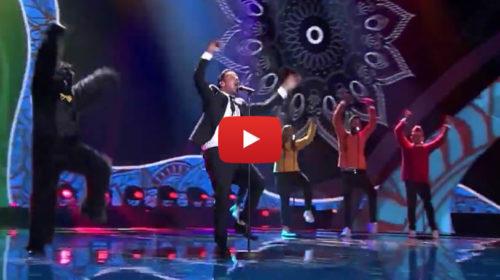 Tutti pazzi per Francesco Gabbani all' Eurovision Song Contest |IL VIDEO dell'esibizione