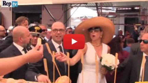 Palermo, applausi e polpette per i reali olandesi al mercato del Capo |IL VIDEO
