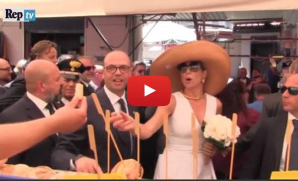 Palermo, applausi e polpette per i reali olandesi al mercato del Capo  IL VIDEO