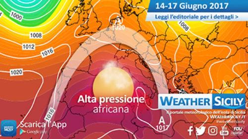 Sicilia, in arrivo 96 ore di caldo afoso: l'alta pressione africana si espande