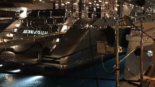 Palermo, tutto pronto per la maxi sfilata di Dolce e Gabbana: è arrivato pure lo yacht |FOTO