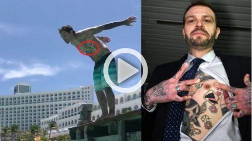 Paul Baccaglini in vacanza: il tatuaggio del Palermo c'è ancora |IL VIDEO