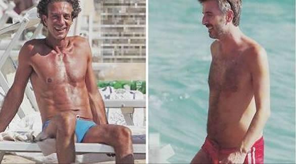 I due comici palermitani Ficarra e Picone, pizzicati sulla spiaggia di Sabaudia |FOTO