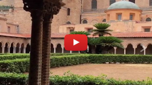 Il chiostro del Duomo di Monreale (PA) – Bellezza superlativa |IL VIDEO