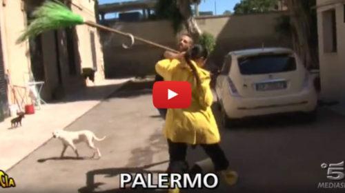 Palermo – Ecco il servizio di Striscia la Notizia dell'aggressione a Stefania Petyx |IL VIDEO