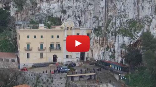 Il Santuario di Santa Rosalia dal drone come non l'avete mai visto |VIDEO
