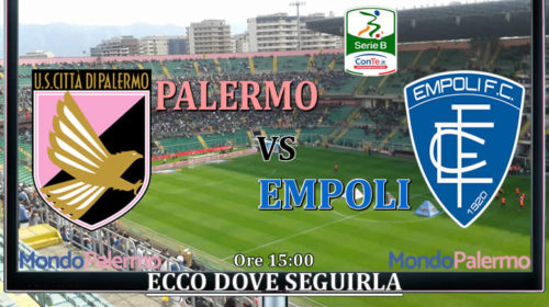 Palermo-Empoli: Ecco come seguirla in Tv e Streaming