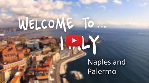 Welcome to Italy – La compagnia aerea American Airlines dedica uno speciale a Palermo e Napoli |VIDEO