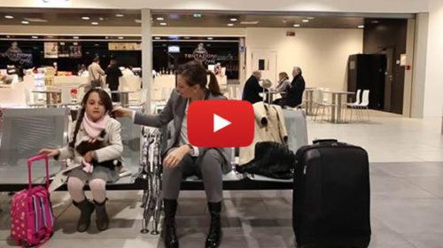L'aeroporto di Palermo diventa set per la favola di Natale 🎄 IL VIDEO 🎥