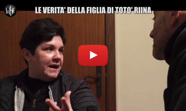 Le Iene – Golia: Le rivelazioni shock della figlia di Totò Riina 📺 VIDEO 🎥