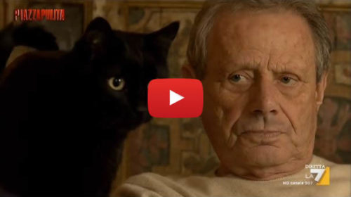 Le telecamere di PiazzaPulita a casa di Maurizio Zamparini 📺 IL VIDEO La7 🎥