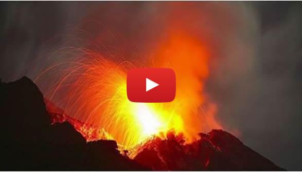 Sicilia, torna in piena attività lo Stromboli 🌋 VIDEO