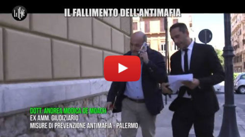 Le Iene – Viviani: Il fallimento dell'antimafia 📺 VIDEO