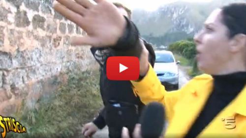 Striscia la notizia, l'edificio confiscato alla mafia occupato dagli abusivi 📺 VIDEO 🎥