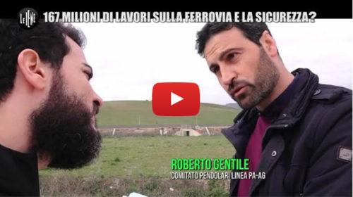 Le Iene – Allarme sicurezza sulla Palermo-Agrigento: Stop ai treni in caso di pioggia 📺 VIDEO 🎥