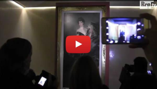 "Donna Franca Florio torna a Palermo. La proprietaria: ""Grande gioia"" 🎥 VIDEO"