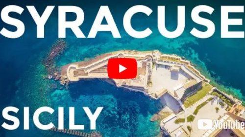 Sicilia – Siracusa, la bellezza di Ortigia vista dal drone | VIDEO