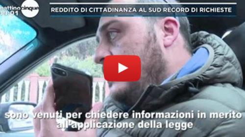 Mattino 5 – Reddito di cittadinanza, le testimonianze di un Caf di Palermo 📺 VIDEO 🎥