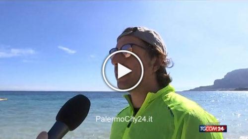 ANTICIPO D'ESTATE A PALERMO: TUTTI IN SPIAGGIA ☀😍 IL SERVIZIO DEL TG5 📺 GUARDA 🎥