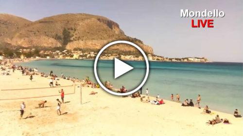 Palermo IN DIRETTA, +25°C e a Mondello si fanno i bagni ☀ GUARDA 😍
