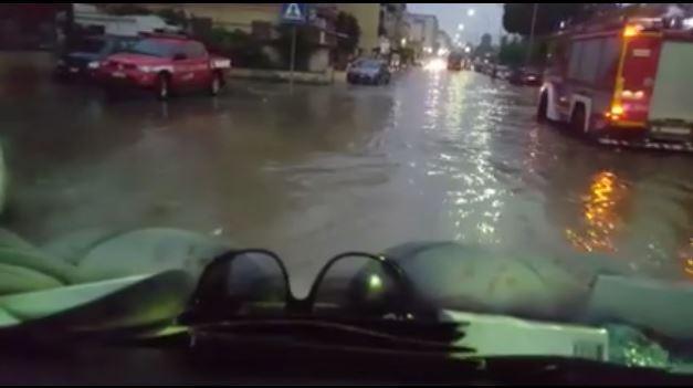 Violento temporale allaga Palermo nella notte: la città si sveglia sott'acqua  VIDEO