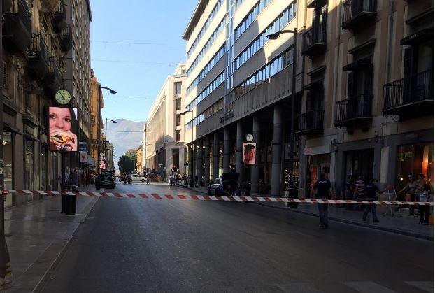 Palermo, Allarme bomba all'Unicredit in via Ruggero Settimo