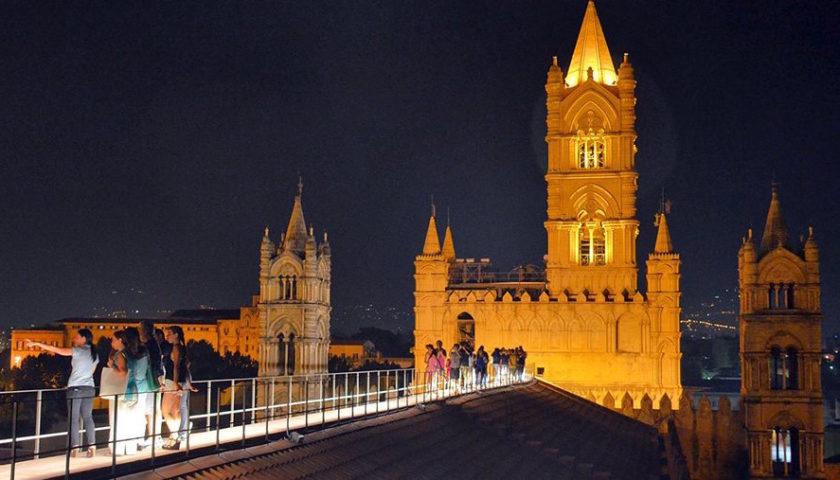 Palermo, sabato la passeggiata serale sui tetti della Cattedrale