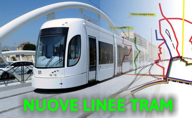 Sette nuove linee di tram a Palermo, presentato il progetto: binari in Via Libertà fino a Mondello